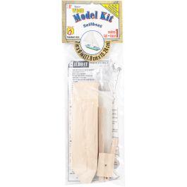"Wood Model Kit Sailboat 7""X6"" - 9169-04"