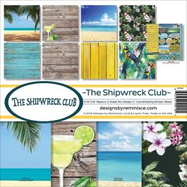 "Reminisce Collection Kit 12""X12"" Shipwreck Club - SHP200"