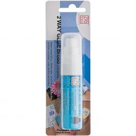 Zig 2 Way Glue Pen Carded Jumbo Tip - MSB30M1P