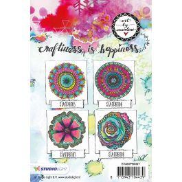 Art By Marlene Flowers Cling Stamp  - MPBM07