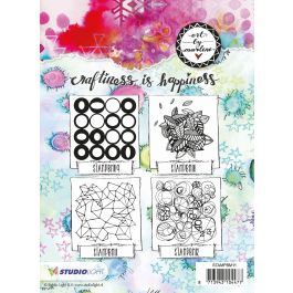 Art By Marlene Background Cling Stamp  - MPBM11