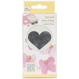 "Classic Punch Heart, 1.6""X1.25"" - E5431011"