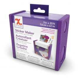"Xyron 3"" Disposable Sticker Maker 3""X20' Permanent - 100111"