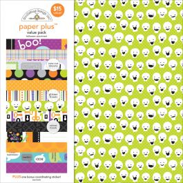 "Doodlebug Paper Plus Value Pack 12""X12"" Halloween - PPAP-5180"