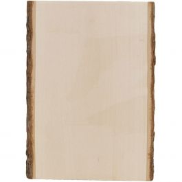 "Basswood Country Rectangle Plank 7"" To 9""X11"" - 3500"