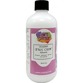 Art Institute Glitter Designer Dries Clear Adhesive Refill 8 Oz - DDC08