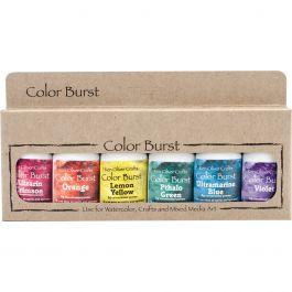 Ken Oliver Color Burst Powder 6/Pkg Brights - KNCPW6-6117