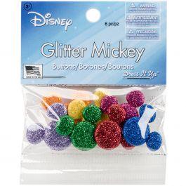 Dress It Up Licensed Embellishments Disney Glitter Mickey - DIULBTN-9007