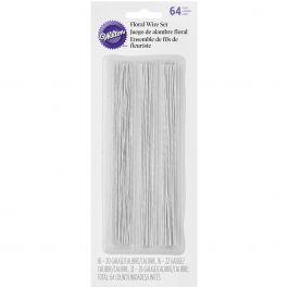 Gum Paste Floral Wire 64/Pkg  - W54456