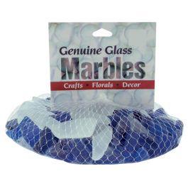 Sea Glass Gems 1Lb Blue & Frost - 1140-69