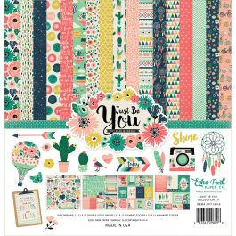 "Echo Park Collection Kit 12""X12"" Just Be You - JBY19016"