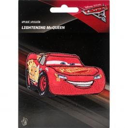 Wrights Disney Cars Iron On Applique Lightning Mcqueen - 193 1147