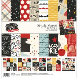 "Simple Stories Collection Kit 12""X12"" Say Cheese Iii - SAY37900"