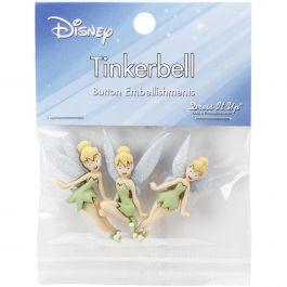 Dress It Up Licensed Embellishments Disney Tinker Bell - DIULBTN-7715