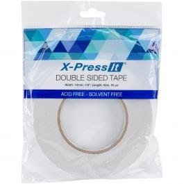 "DST6 X-Press It Double-Sided Tape 6mm-.25/""X55yd"
