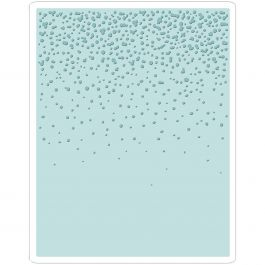 Sizzix Texture Fades A2 Embossing Folder Snowfall/Speckles By Tim Holtz - 661008