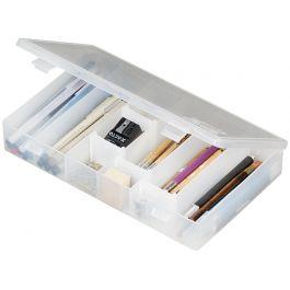 "Artbin Ids (Infinite Divider System) Compartment Box 11""X6.75""X1.75"" Translucent - 600IDS"