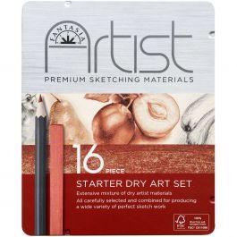 Fantasia Dry Art Starter Tin 16/Pkg-
