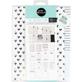 My Prima A5 Planner Inserts Golden Plan - 595203