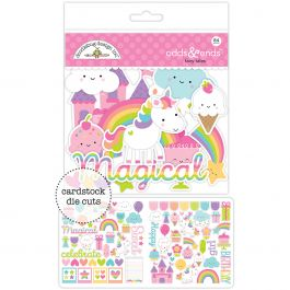 Doodlebug Odds & Ends Die Cuts 84/Pkg Fairy Tales - FAIR5598