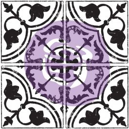 """Iron Orchid Designs Decor Clear Stamps 12""""X12"""" Field Tile Cubano - 816483"""