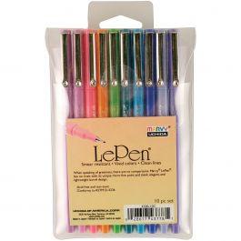 Le Pen Bright Set 10/Pkg Assorted Colors - 4300-10C