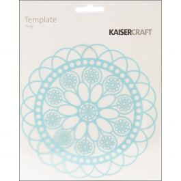 """Kaisercraft Designer Template 6""""X6"""" Doily - T401"""