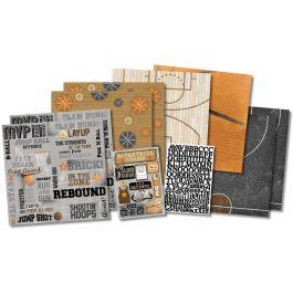 "Karen Foster Scrapbook Page Kit 12""X12"" Basketball Champ - KF20535"