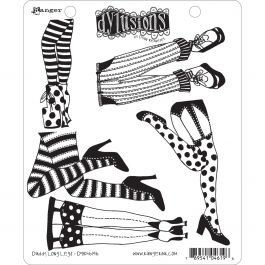 """Dyan Reaveley'S Dylusions Cling Stamp Collections 8.5""""X7"""" Daddy Long Legs - DYR-46196"""