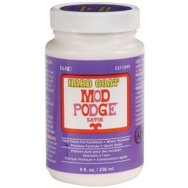 Mod Podge Satin Hard Coat Finish 8Oz - CS11245