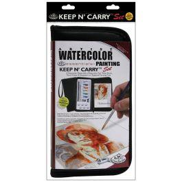 Keep N' Carry Artist Set Watercolor Paints - RSETKCWP