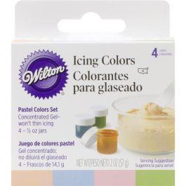 Icing Colors .5Oz 4/Pkg Pastel - W601-25588