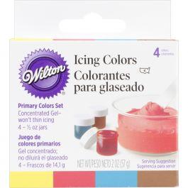Icing Colors .5Oz 4/Pkg Primary - W601-5127