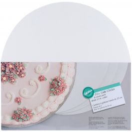"Cake Boards 14"" Round White 6/Pkg - W2104145"