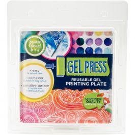 "Gel Press Gel Plate 6""X6""  - 10800"