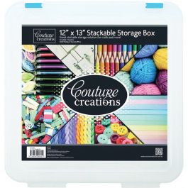 "Couture Creations Stackable Storage Box 12""X13"" - CO721952"