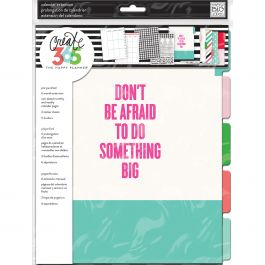 Happy Planner 6 Month Undated Big Planner Extension Pack   Something - MONB01