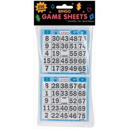 "Bingo Game Sheets 4""X8"" 125/Pkg 250 Games - 255571"