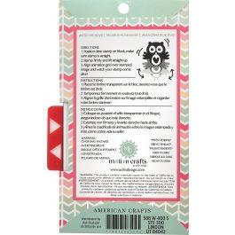 Motion Crafts Animation Clear Stamps & Grid Set Loving Cat - 346504