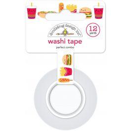 Doodlebug Washi Tape 15Mmx12Yd Perfect Combo - WT6026
