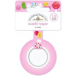 Doodlebug Washi Tape 15Mmx12Yd So Sweet - WT6029