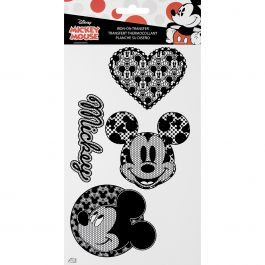 Wrights Disney Mickey Mouse Iron On Transfers Lace Mickey Mouse Icons - 19311280