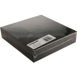 "Grafix Medium Weight Chipboard Sheets 6""X6"" 25/Pkg Black - CB66-25B"