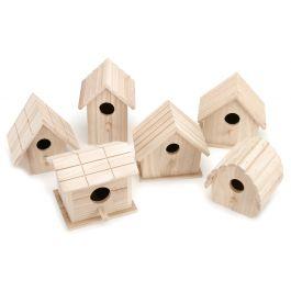 Assorted Wood Birdhouse  - 9164-50