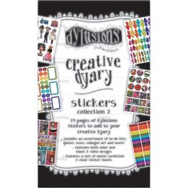Dyan Reaveley'S Dylusions Creative Dyary Sticker Book Book 2 - DYE60123