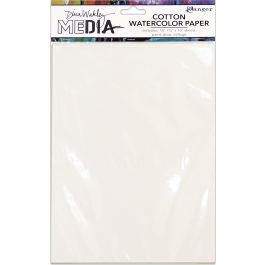 Dina Wakley Media Cotton Watercolor Paper Pack  - MDJ59646