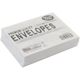 "Leader A2 Envelopes (4.375""X5.75"") 50/Pkg White - A250"
