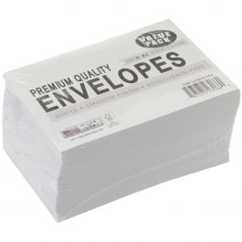 "Leader A1 Envelopes (3.625""X5.125"") 100/Pkg White - A1100"