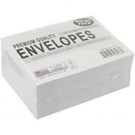 "Leader A2 Envelopes (4.375""X5.75"") 100/Pkg White - A2100"