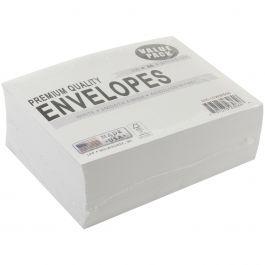 "Leader A6 Envelopes (4.75""X6.5"") 100/Pkg White - A6100"